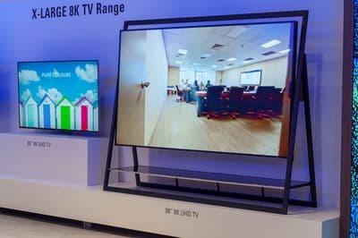 К 2020 году поставки 8K-телевизоров перевалят за 2 миллиона